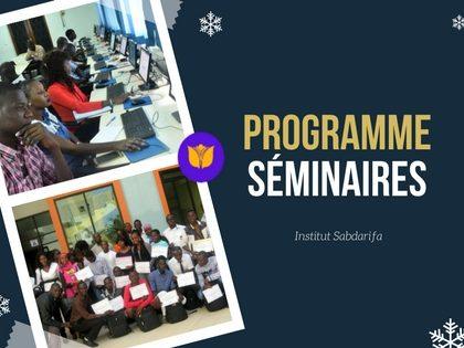 Programme Séminaire SIG SABDARIFA