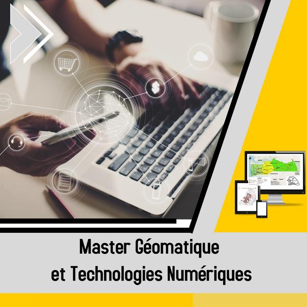 Géomatique et Technologies Numériques